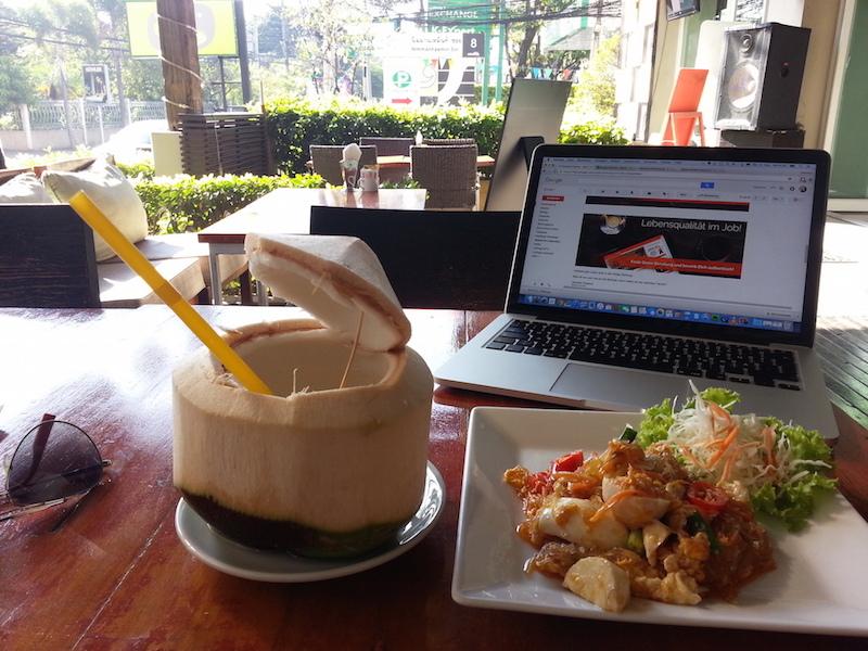 Arbeiten auf Bali