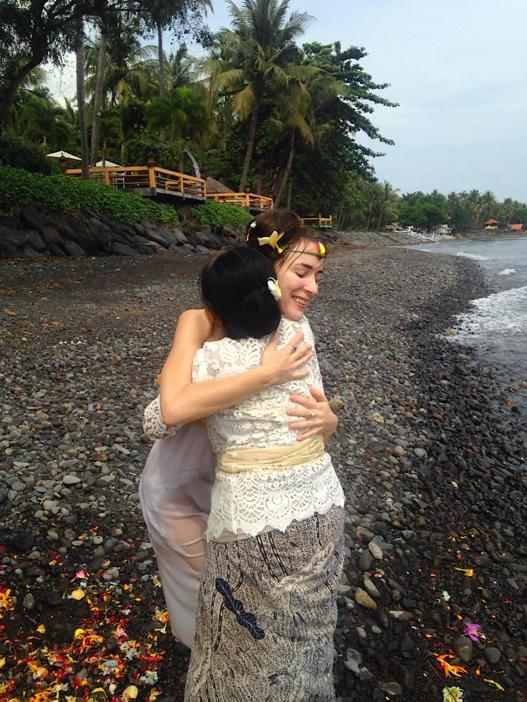 Wie neugeboren fühlen nach schamanischem Ritual auf Bali